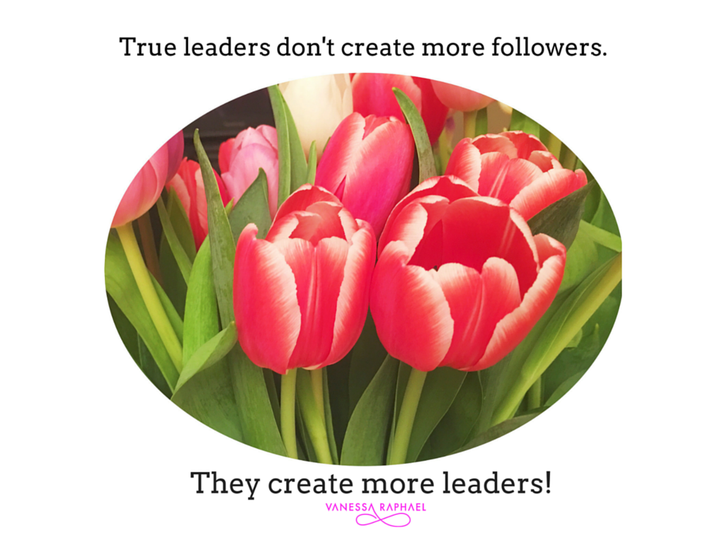 Canva quote tulips
