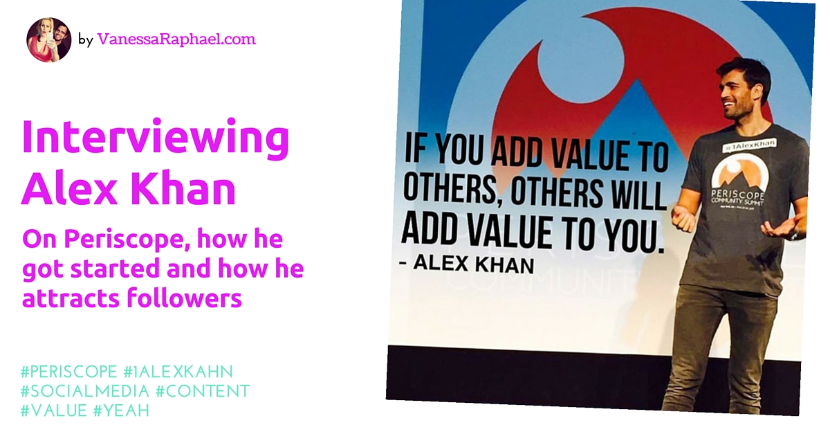 Image result for Images for Alex Khan Periscope